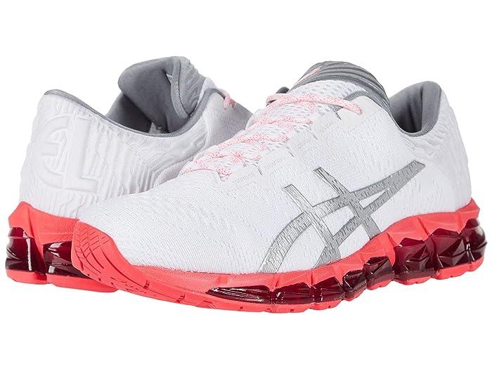 ASICS GEL-Quantum 360 5 (White/Silver) Womens Running Shoes