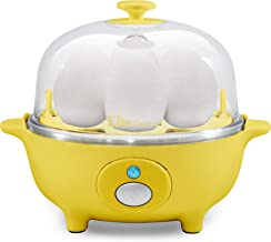 Maxi-Matic Elite Cuisine EGC-007Y Eggs & Soft, Medium, Hard-Boiled Egg Boiler Cooker..