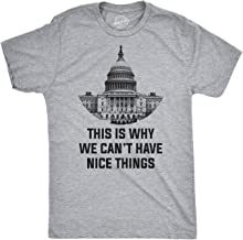 This is Why We Can't Have Nice Things Capitol T Shirt Funny Political Tee