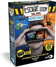 Noris 606101666- Escape Room Erweiterung Virtual Reality – Familien und Gesellschaftsspiel für Erwachsene - inklusive VR-B...