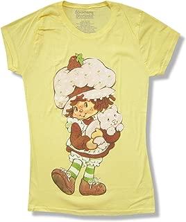Strawberry Shortcake Girl Juniors Yellow T Shirt