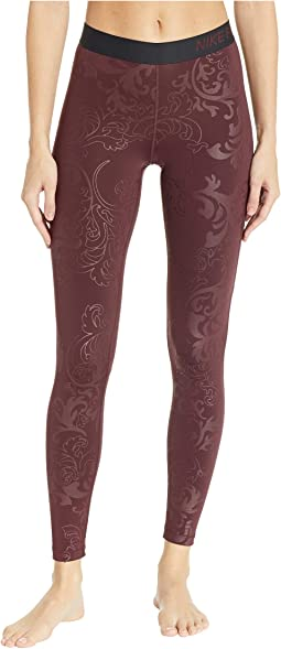 Pro Warm Tights Royal Print