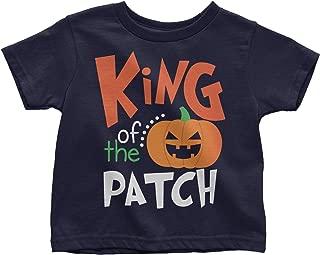 Halloween King of The Patch Cute Little Pumpkin Youth Toddler T-Shirt