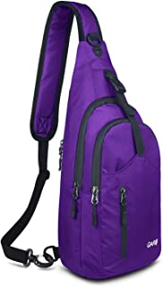 CARQI Sling Bag Waterproof Shoulder Backpack Chest Crossbody Purse for Travel