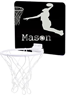 Jacks Outlet Basketball Player Silhouette - Custom Unisex Childrens 7.5