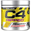 Cellucor C4 Ripped Pre Workout Powder, Thermogenic Fat Burner & Metabolism Booster for Men & Women w