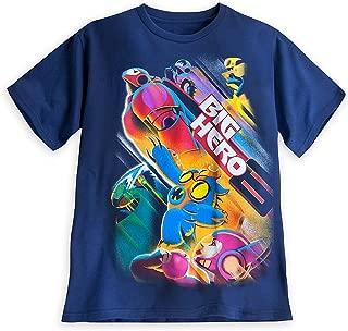 Store Big Hero 6 Baymax Tee T-Shirt Mens (L) Large Blue