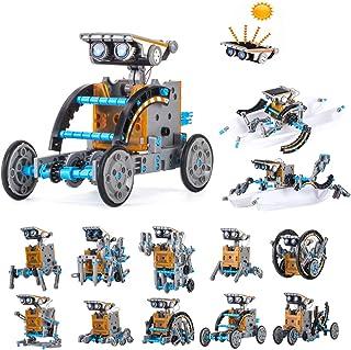 HahaGo Solar Robot Kit STEM Toys 12 in 1 Educational Building Toy DIY Science Experiment Kits Coding Robots Engineering 19...