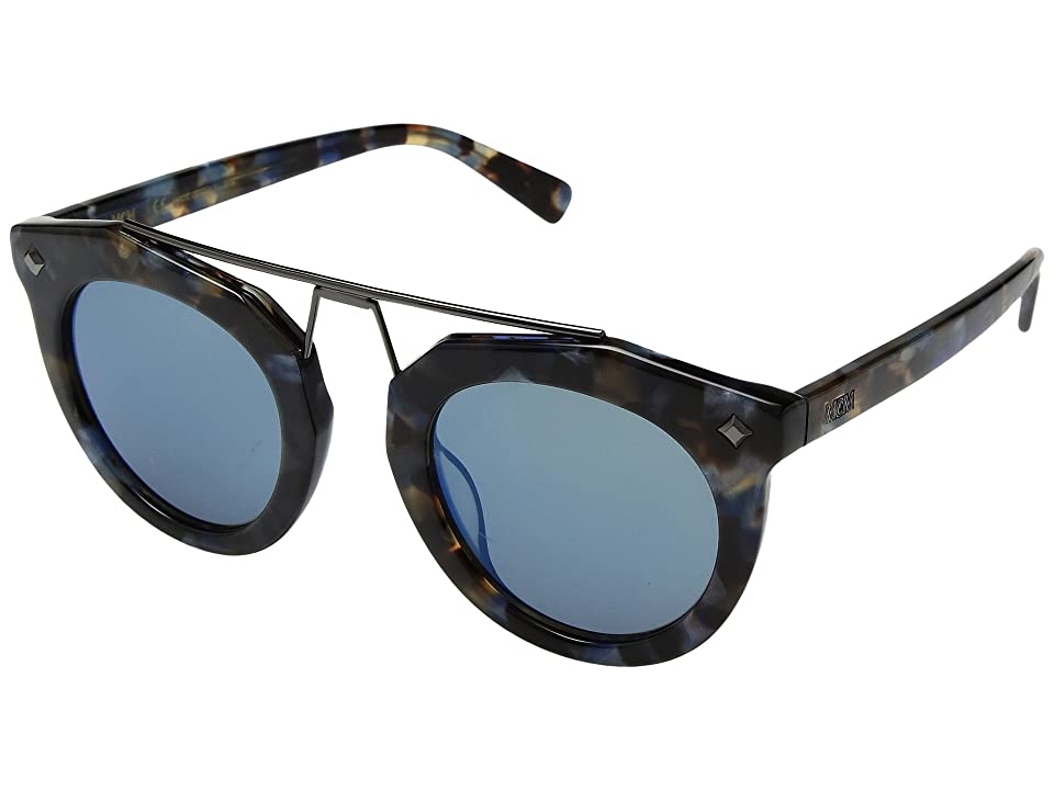 97a419fcdd1 MCM MCM636SL (Havana Blue Blue Mirror) Fashion Sunglasses