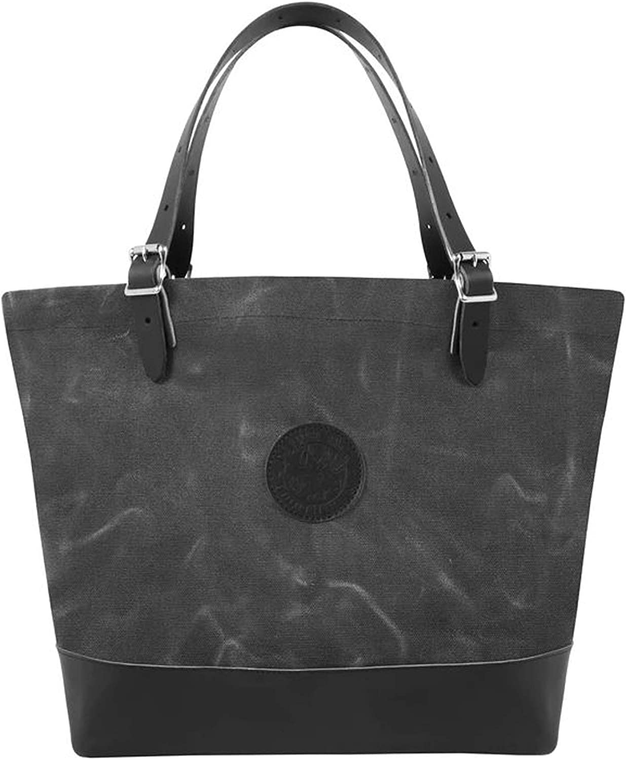 Waxed Grey Duluth Pack Deluxe Market Tote