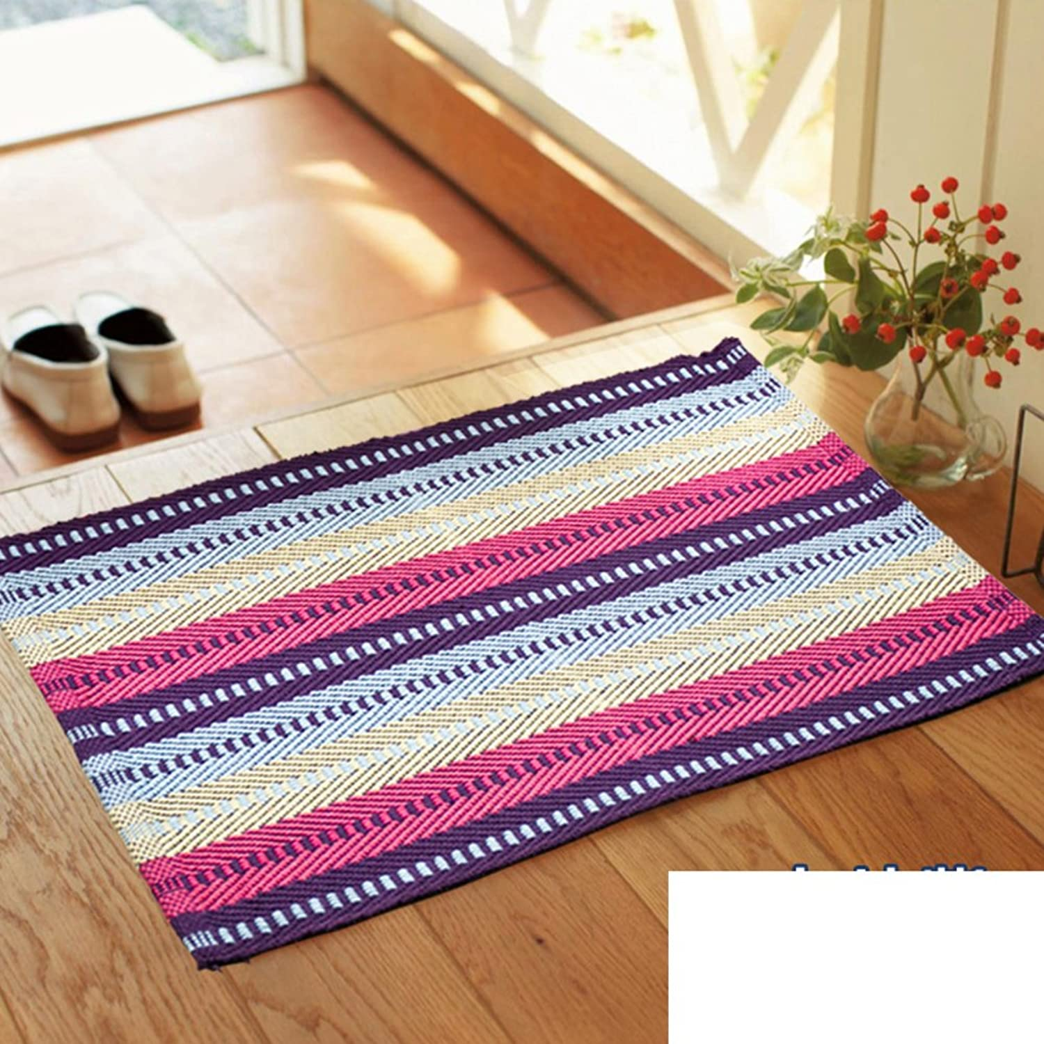 Doormats Fabric mats Living Room Bedroom mats Kitchen Floor mats Bathroom Water-Absorption mat-F 150  200cm(59x79inch)
