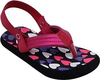 D'chica Summer Hearts Flip Flops for Girls