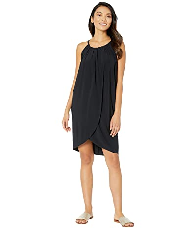 Magicsuit Draped Cover-Up Dress (Black) Women