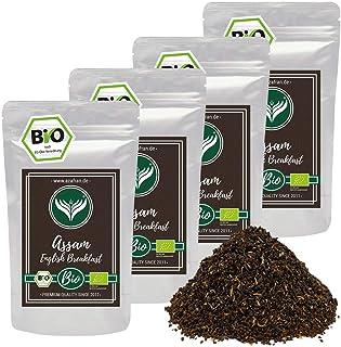 Azafran BIO Assam Schwarzer Tee - English Breakfast Tea - Ostfriesentee 1kg