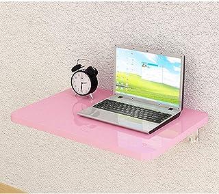 Gaohm Table d'ordinateur Portable Murale Pliable Table de Salle à Manger Rabattable pour Petit Bureau en Bois pour Ordinat...