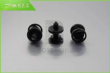 X 9 X 8 mm ORIGINAL BOSSMOBIL gainage agraf/é de retenue universel Nouveau 15