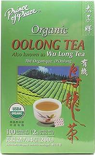 Prince of Peace Organic Oolong Tea 100 tea bags (Pack of 6)