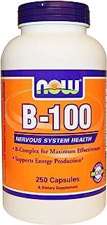 NOW Foods - B-100 CAPS 250 CAPS