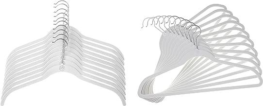 Joy Mangano JHR011000 24 Pk Suit/Shirt Huggable Hangers, White