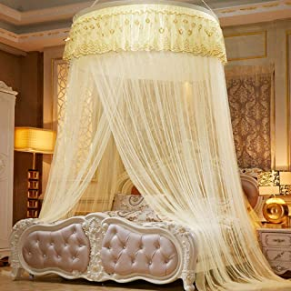 high quality Girls Boys Playhouse,Dome ceiling mosquito net,encryption double ceiling round floor gauze,1.2m(4 feet) bed,p...