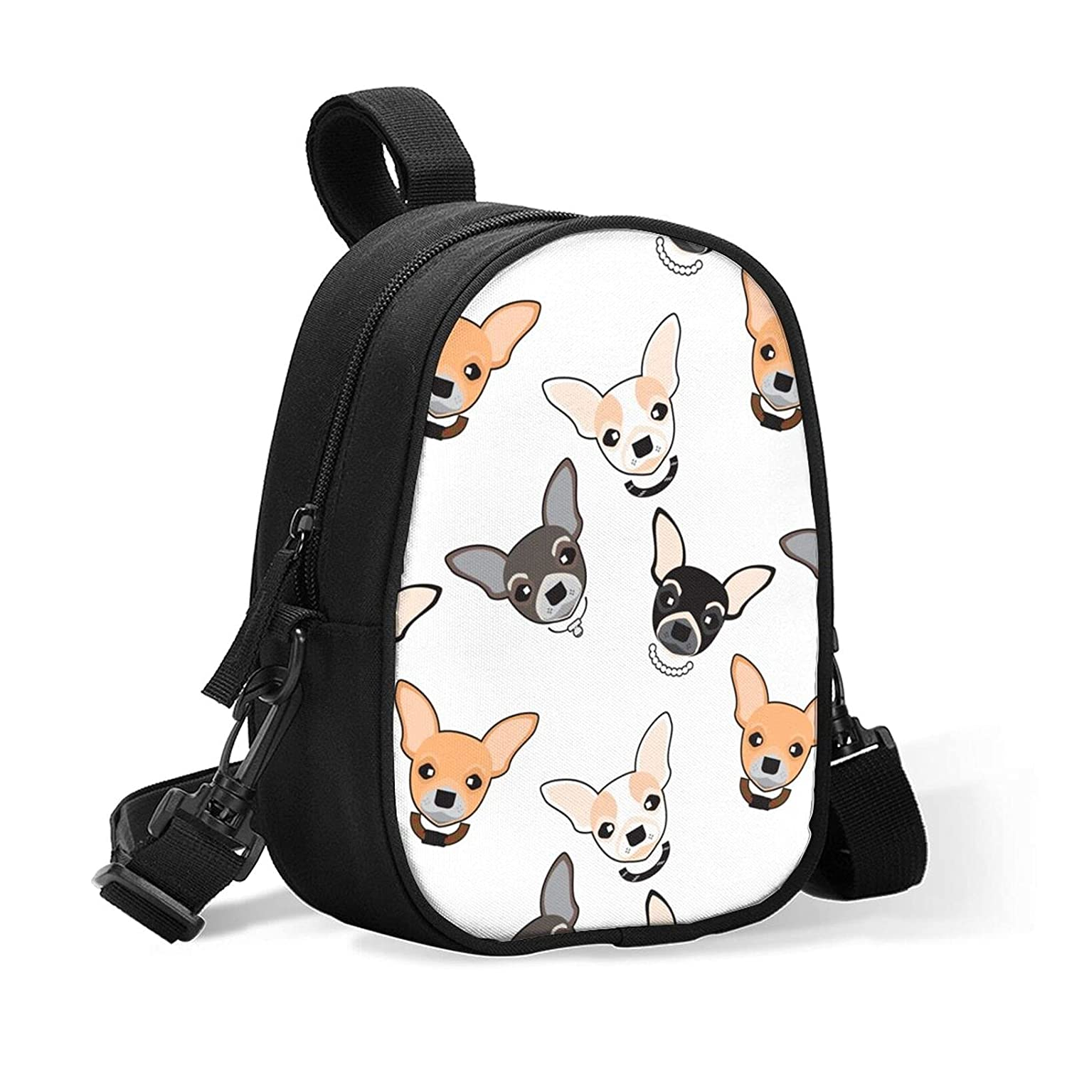 New products world's highest quality popular Insulated Baby Bottle Cooler Bag L White Chihuahua Our shop most popular Background On