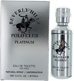 BHPC Platinum by Beverly Hills Polo Club, 3.4 oz EDT Spray for Men