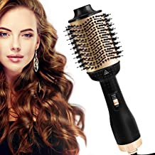 AU Plug 2020 Version, One Step Hair Dryer and Volumizer, Delivery from AU Warehouse, 5 in 1 Hair Dryer Brush Hot Air Brush Comb Blow Dryer Styler Brush Negative Ion Hair Dryer for All Hair Types