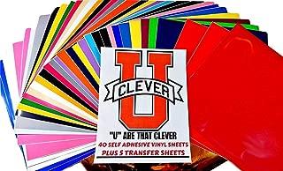 Permanent Self Adhesive Backed Vinyl Sheets12