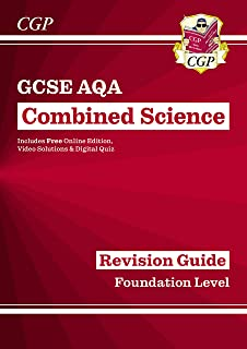 New GCSE Combined Science AQA Revision Guide - Foundation includes Online Edition, Videos & Quizzes