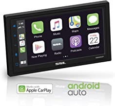 Sound Storm DD988ACP Apple CarPlay Android Auto Car Multimedia Player - Double-Din, 6.75 Inch LCD Touchscreen, Bluetooth, ...