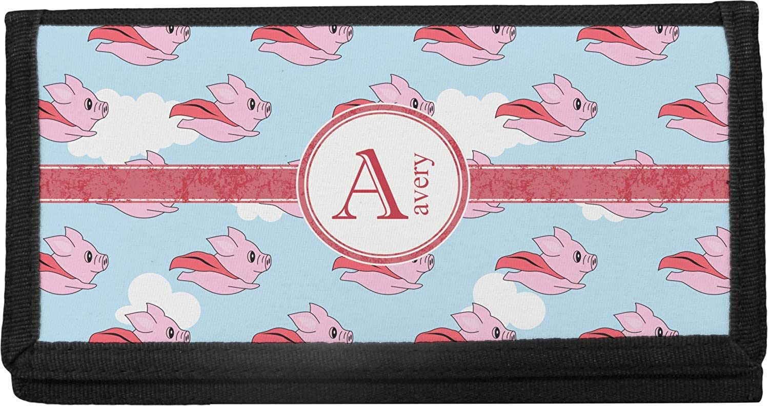 Flying Pigs Popular products Ranking TOP17 Canvas Checkbook Personalized Cover