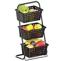iSPECLE 3 Tier Mini Standing Fruit Hanging Basket Deals