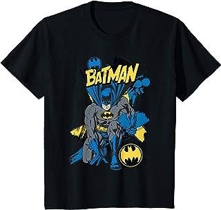 Enfant US DC Batman Crouch 01 - Kids T-Shirt