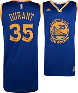 3b88e401f Kevin Durant Golden State Warriors Autographed Blue Authentic Jersey  with