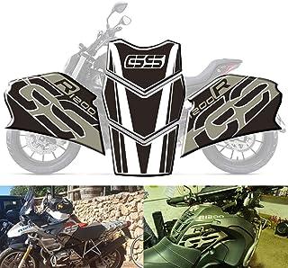 mewmewcat Protetor de almofada de tanque de óleo de gás para motocicleta Anti-derrapante à prova de arranhões Joelheiras a...
