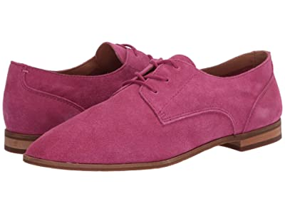 FRYE AND CO. Piper Oxford (Magenta Suede) Women