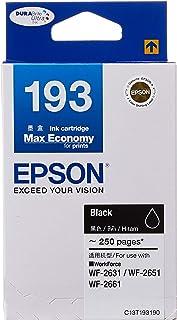 Epson T193 DuraBrite Ultra Ink, Black