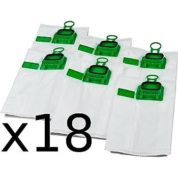 Lot de 2/x/6 sacs d/'aspirateur haut de gamme pour Vorwerk Kobold VK/200