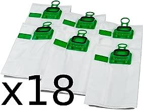 Pacco scorta sacchetti per aspirapolvere Premium 3 x 6 adatti per Vorwerk Kobold VK 140 e VK 150