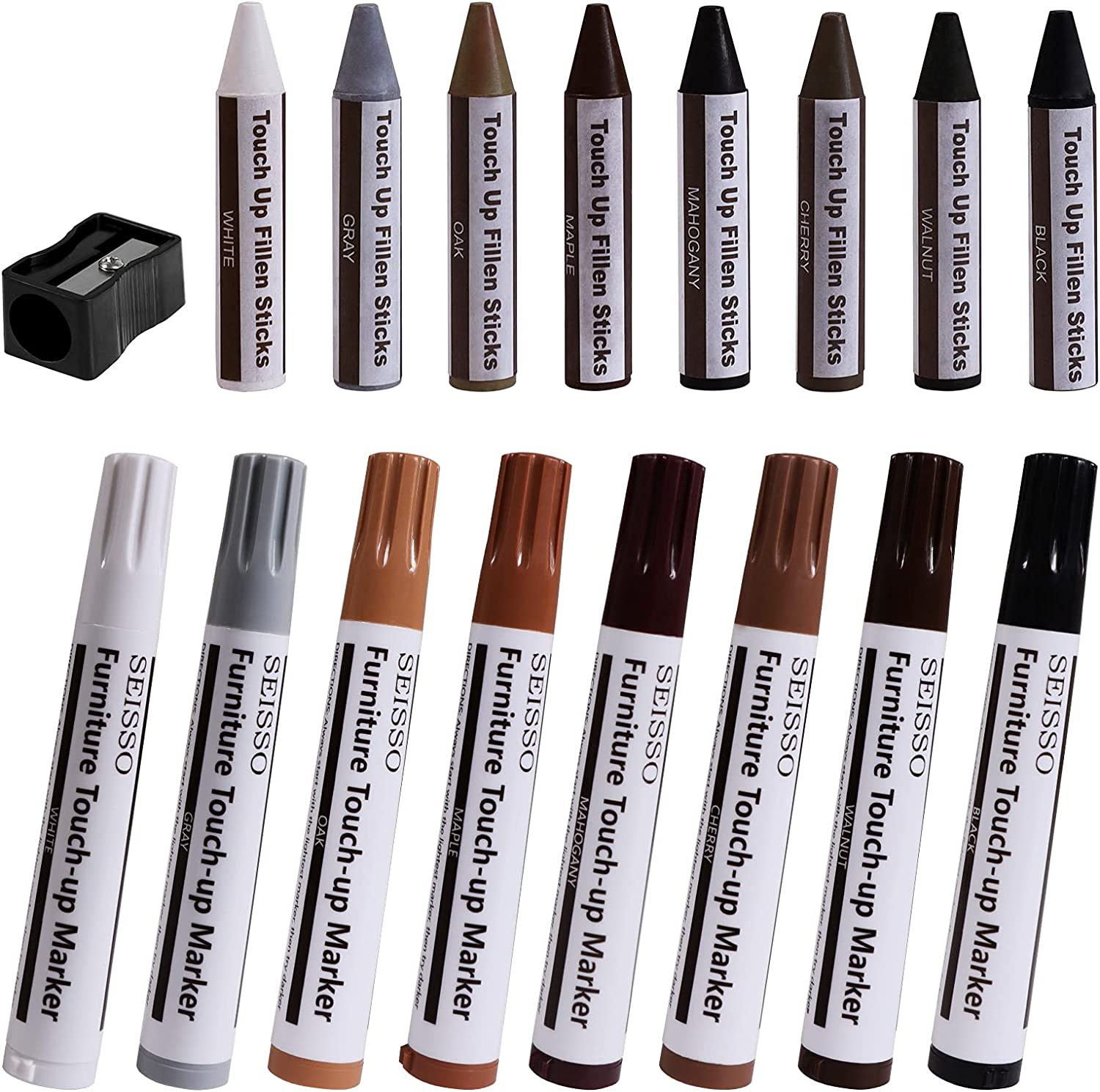 Furniture Cash special price Repair Wood Markers Kit Scratch Super beauty product restock quality top Ups an Cover -