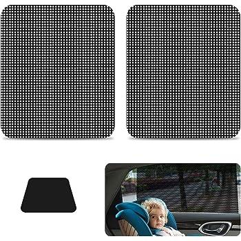 2 pz. Pellicola parasole elettrostatica per finestrino auto Sunshine Kids 10100