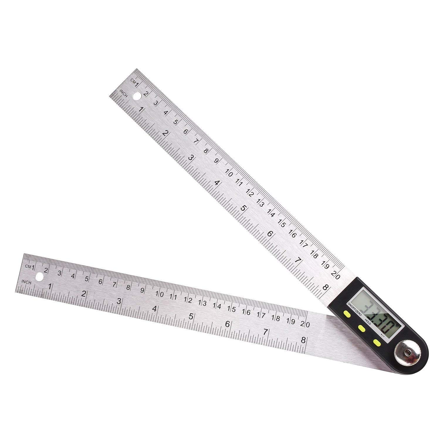 2in1 Digital LCD Angle Finder Ruler Trend 400mm 225° Gauge Measuring Tool Ruler