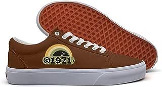 VCERTHDF 1971 Milestone Year Memorial Flag4 Classic Canvas Shoe Women White