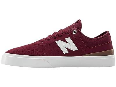 New Balance Numeric 379 (Burgundy/White) Skate Shoes