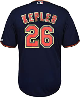 Outerstuff Max Kepler Minnesota Twins Youth 8-20 Navy Alternate Cool Base Replica Player Jersey