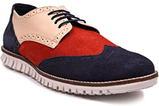 Andrew Scott Men's Suede Leather Corporate Casuals