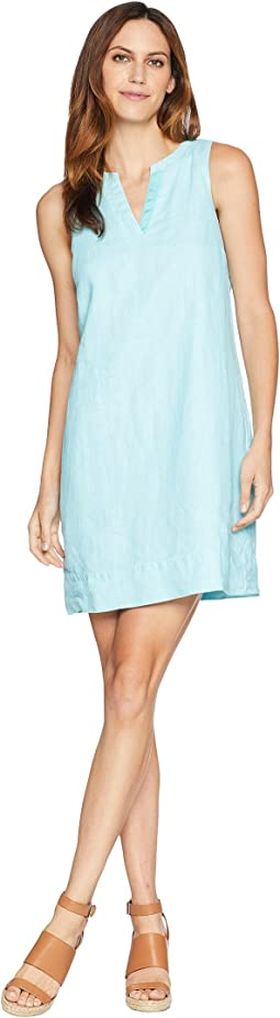 Seaglass Linen Shift Dress
