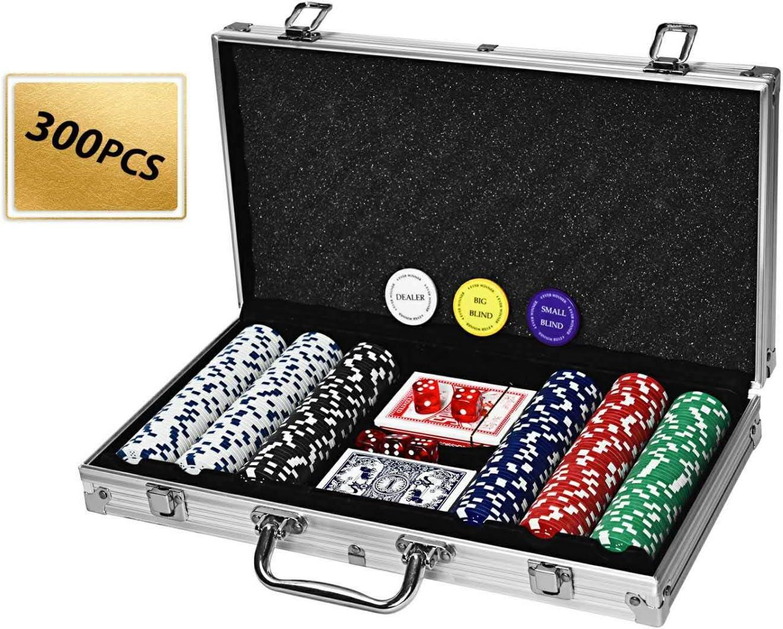 4everwinner Poker Chip Set OFFer Ranking TOP11 200PCS Chips 300PCS Gram 11.5