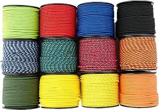 1/8''(3mm) 164ft Diamond Braid Nylon Rope,5 Strands Paracord Utility Rope,Multipurpose Nylon Twine
