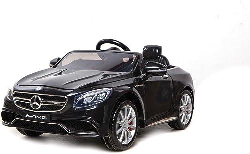 ventas directas de fábrica Babycar 500N Coche eléctrico para Niños Mercedes S 63Full Optional Optional Optional con Mando a Distancia, 12V, negro  envío gratuito a nivel mundial